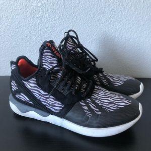 Adidas Tubular Zebra Print Size 10
